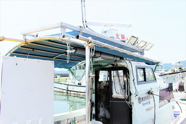 フィッシング太陽 船体情報 屋根